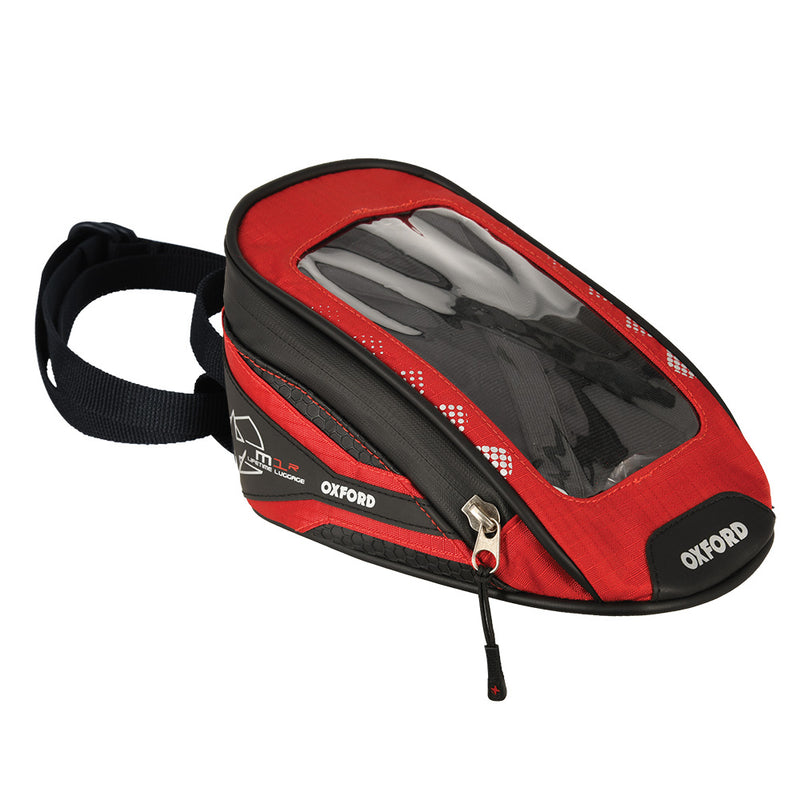 Oxford - M1R MICRO TANK BAG - BLACK / BLUE / RED