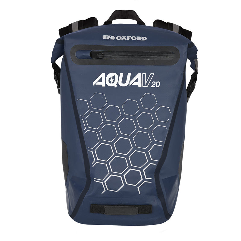 Oxford - Aqua V 20 Backpack - Black / Flou / Navy / Orange