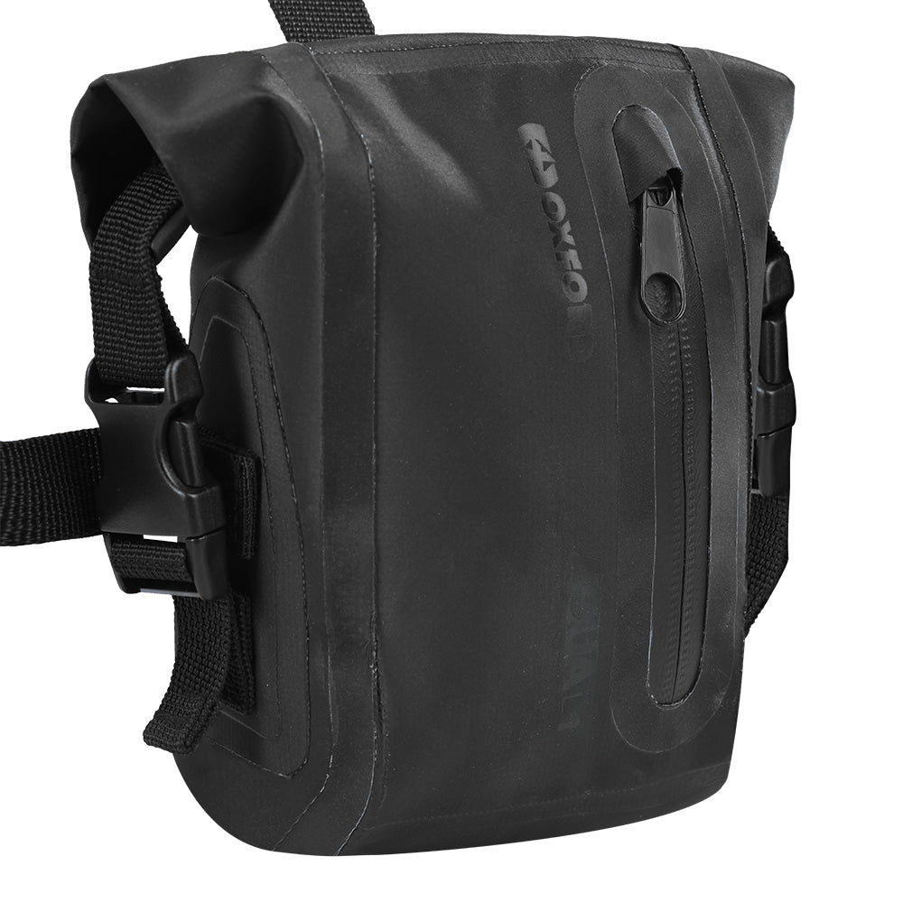 Oxford - Aqua L1 Leg Bag - Black