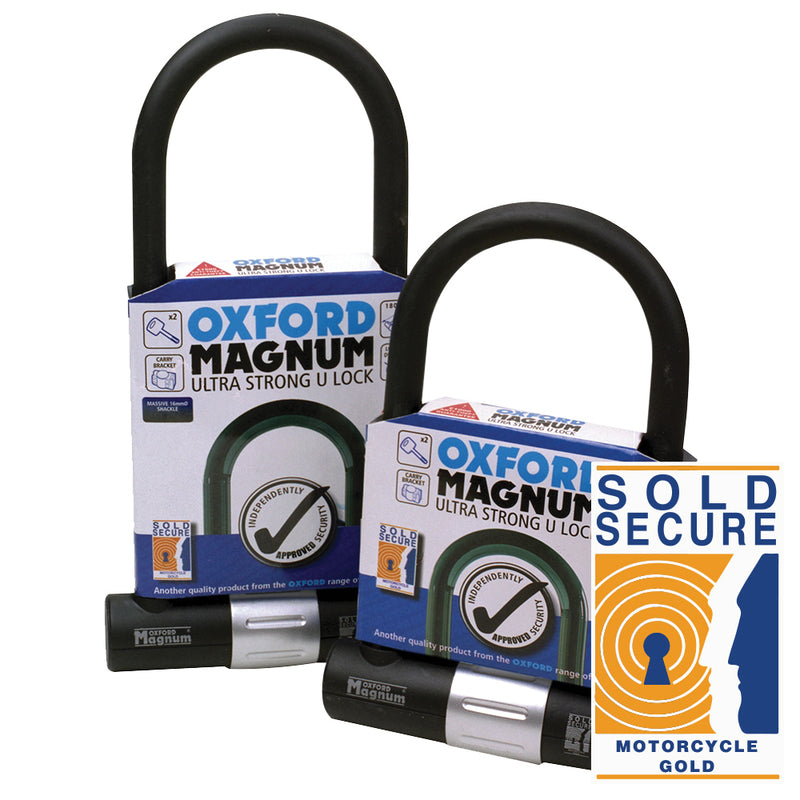 Oxford - Magnum U-lock (170x285mm) with bracket
