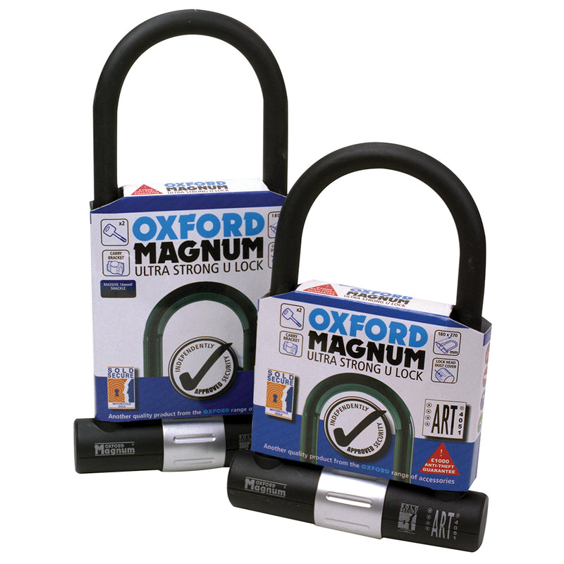 Oxford - Magnum U-lock (170x315mm) & bracket