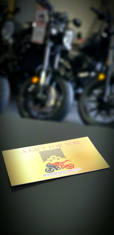 Motorcycle World Gift Card