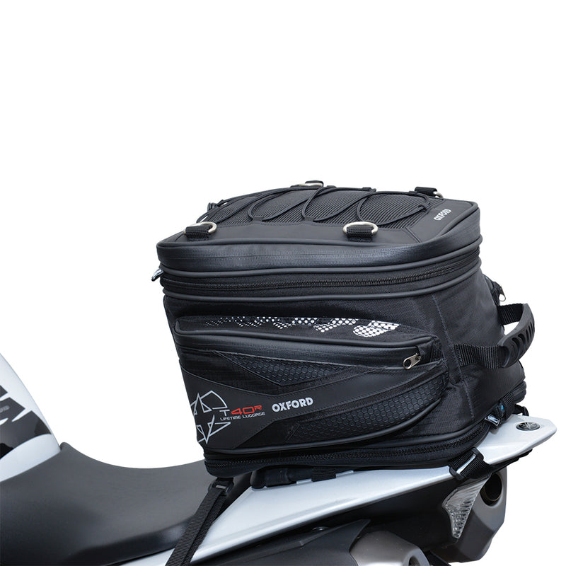 Oxford - T40R TAILPACK - BLACK