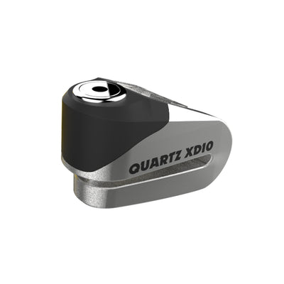 Oxford - Quartz XD10 disc lock (10mm pin) - Brushed stainless effect / Yellow/Black