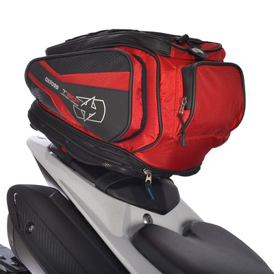 Oxford - T30R TAILPACK - Black / Red / Blue