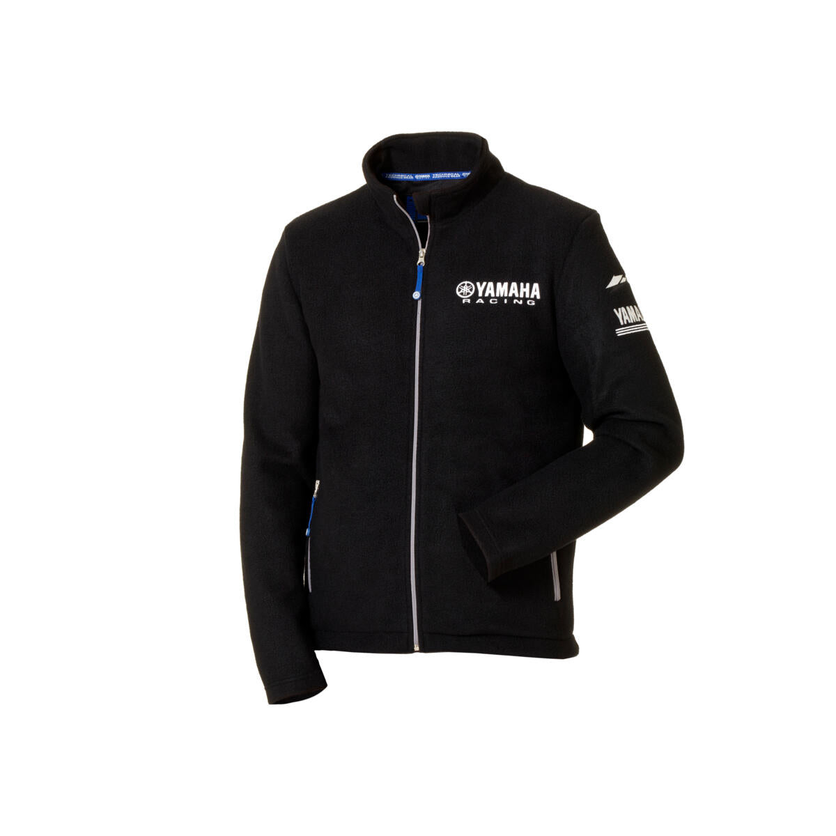 Paddock Blue Men's Fleece Jacket - Black / Blue