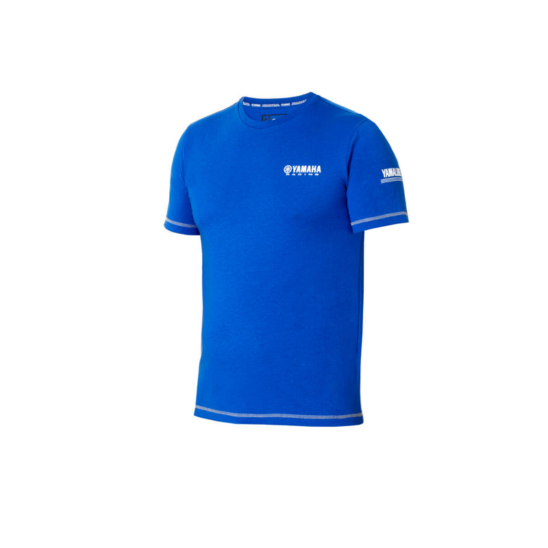 Paddock Blue Casual Men's T-shirt - Black / Blue