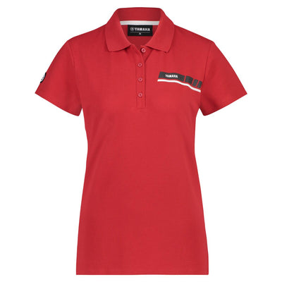 REVS Women's Polo - Red / Black / White