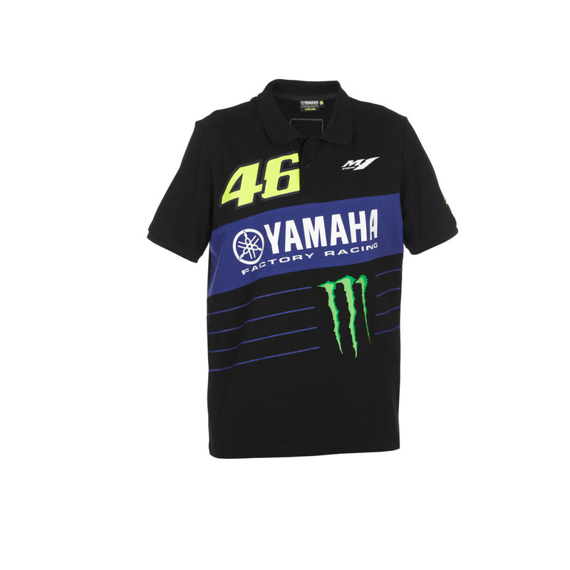 Yamaha VR46 Men's Powerline Polo Shirt