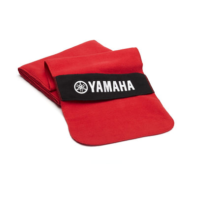 Fleece Scarf - Black / Racing Blue / Red