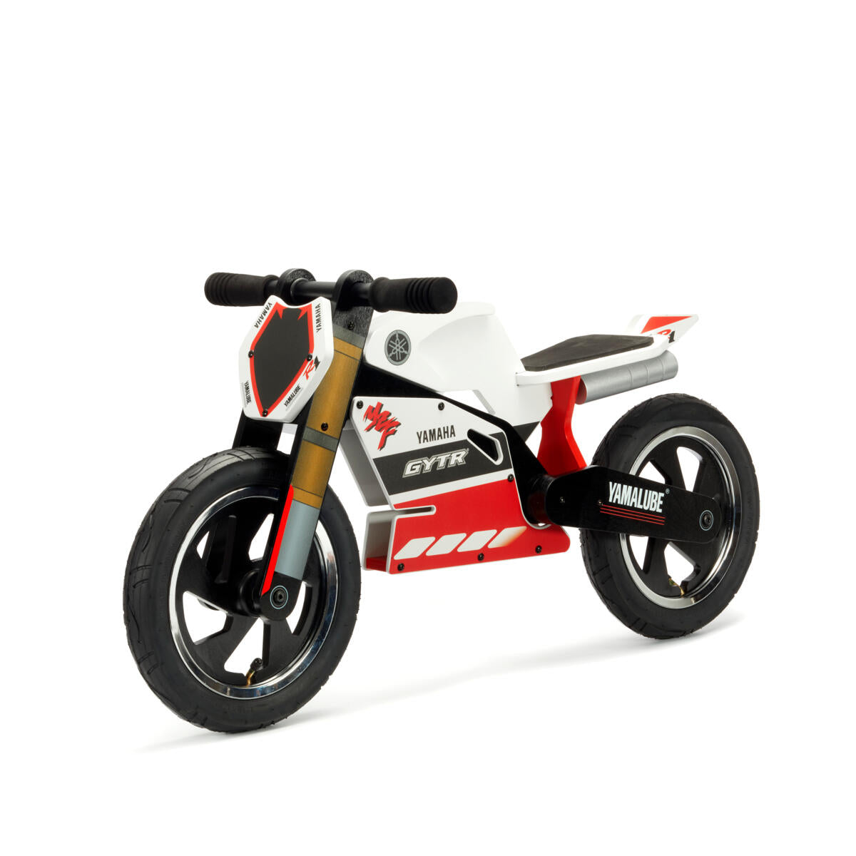 Yamaha Racing R1 Wooden Balance Bike