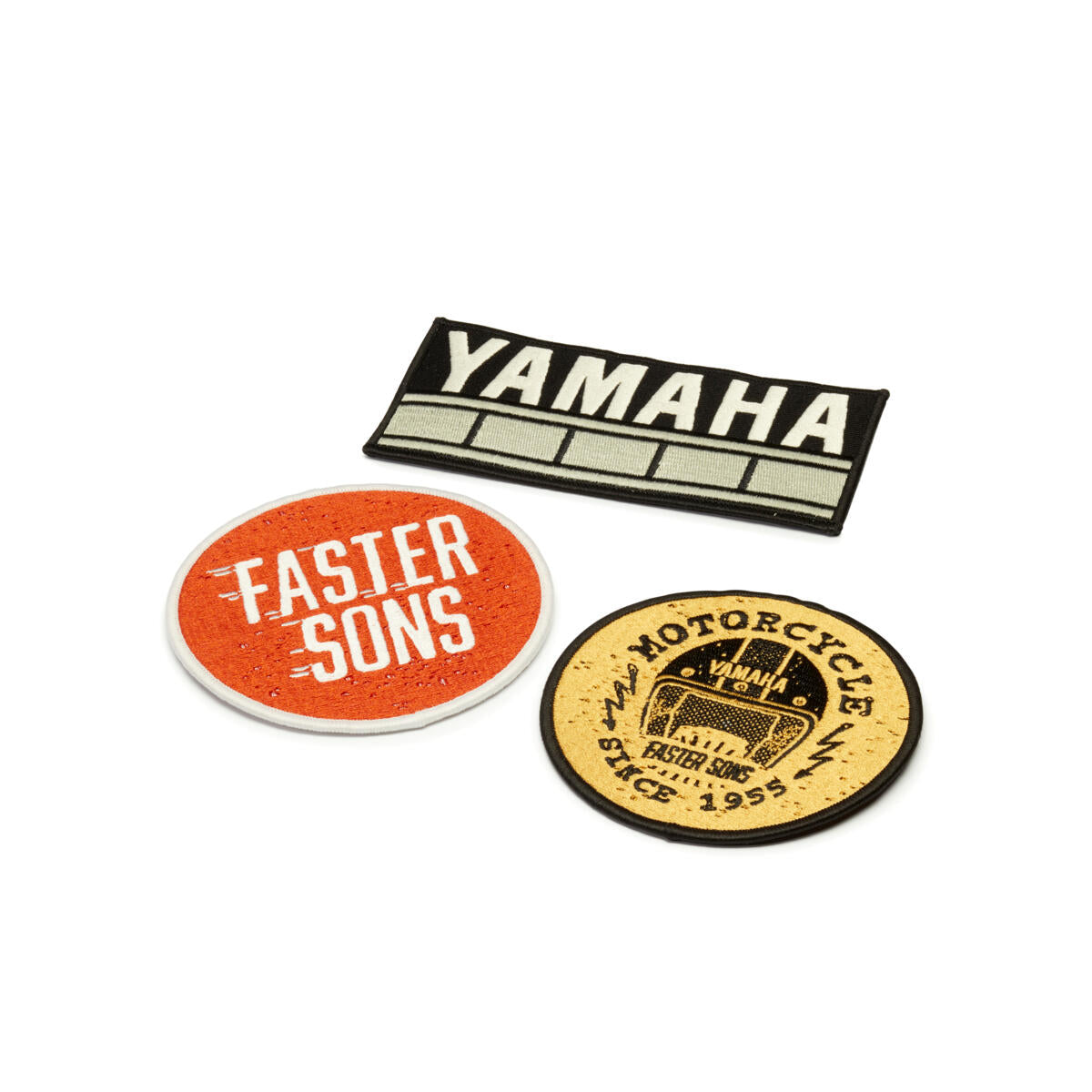 Faster Sons Patches - set of 3