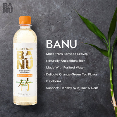 BANU Bamboo Water - Orange Blossom