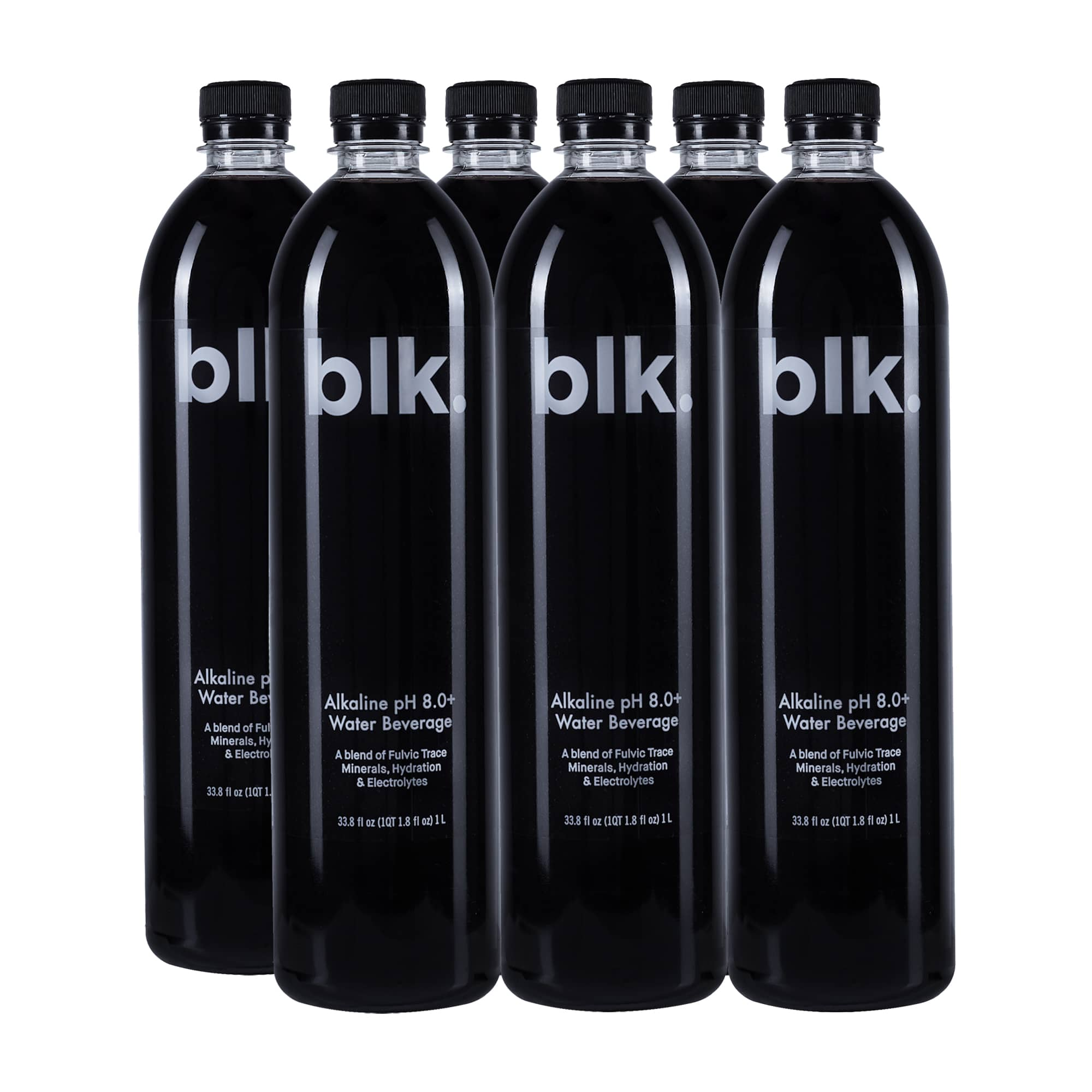 blk. Original Alkaline Water pH 8.0+ with Fulvic Trace Minerals