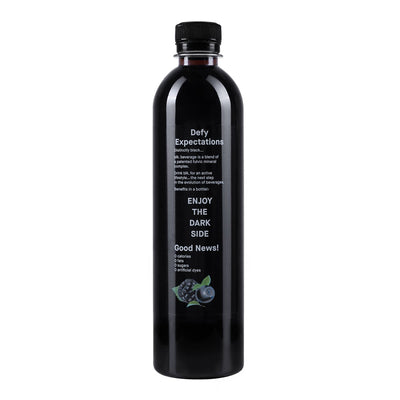 blk. Black & Blueberry Zero Calories - 12pk / 16.9 fl oz / 500ml Bottles