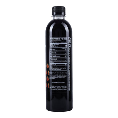 blk. Orange Vanilla Energy Enriched Fulvic Water + blk. Alkaline Water pH 8.0
