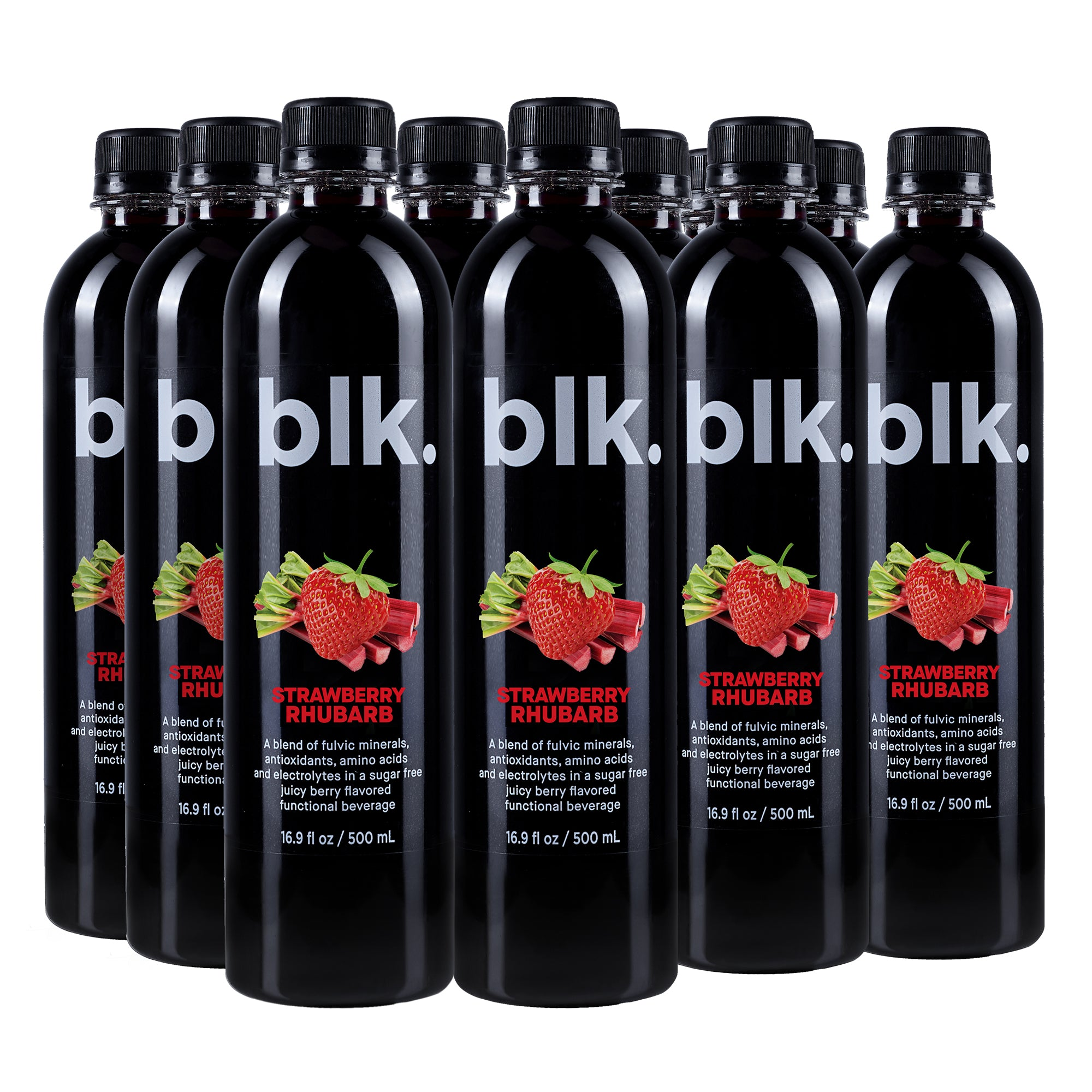 blk. Strawberry Rhubarb 12 Pack