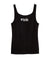blk. Tank Top - Comfy cotton tank top featuring the blk. logo