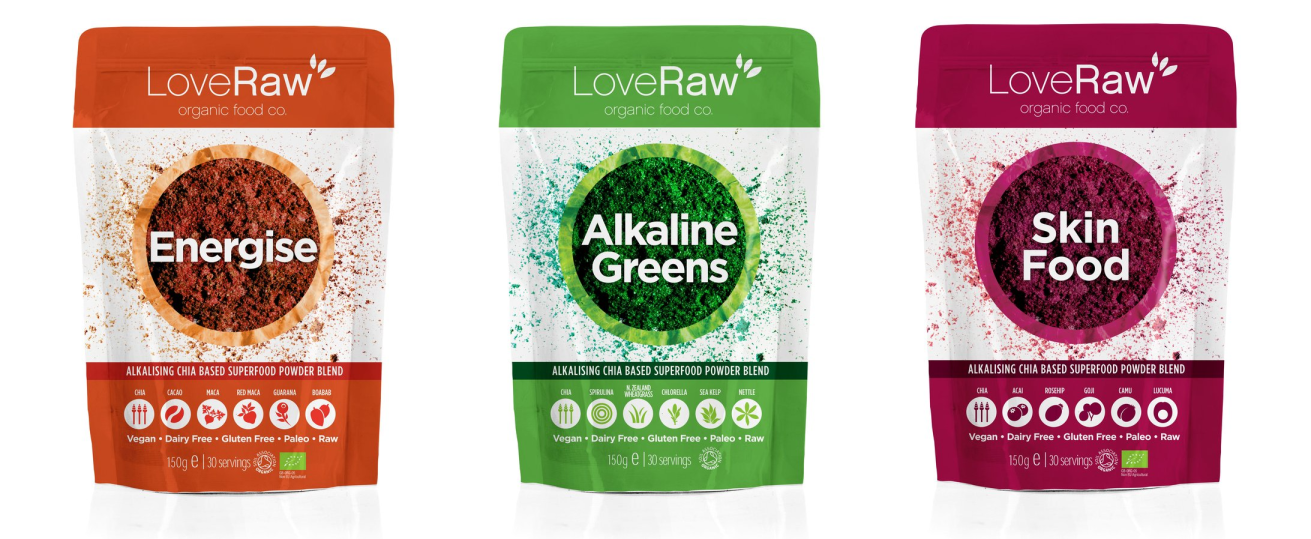 Love Raw Food Blends