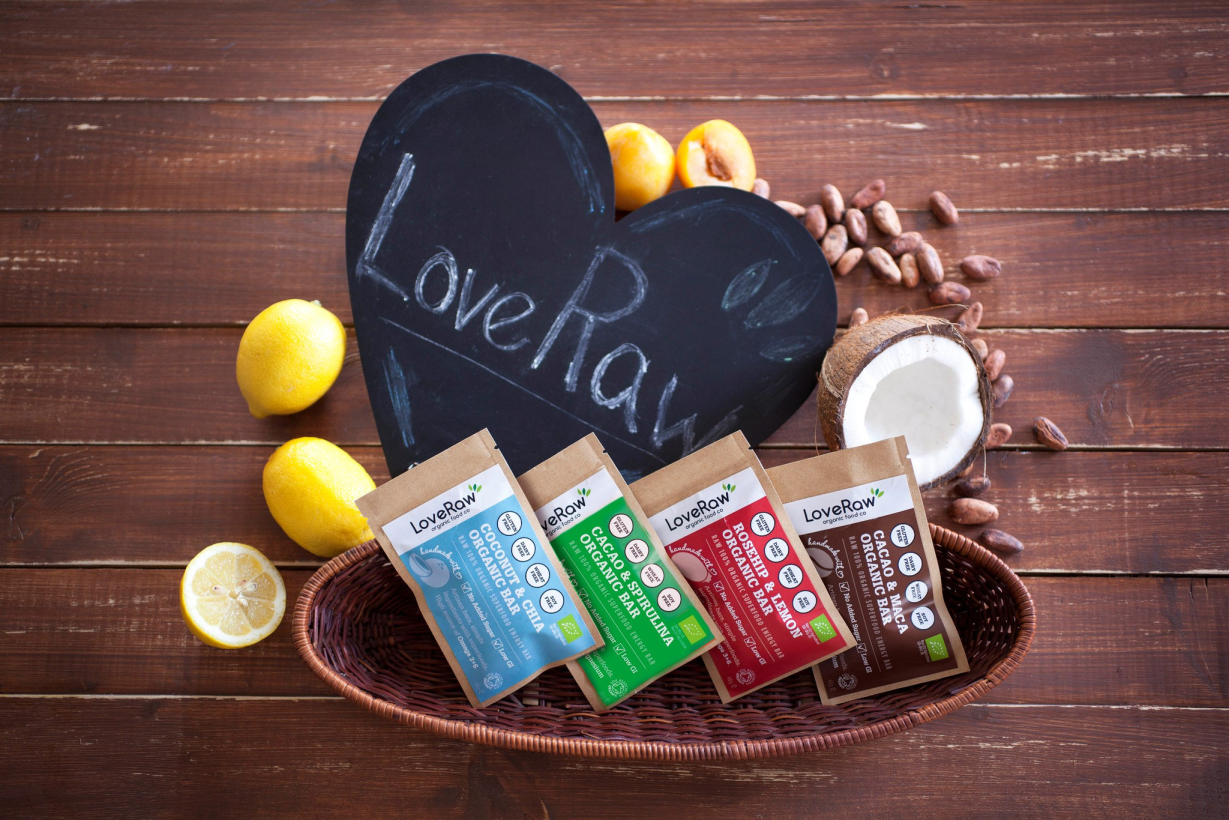 Love Raw superfood och rawfood bars