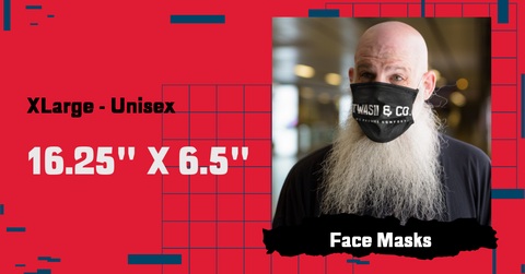 Face Mask Size Large