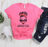 January Girl Unisex T-Shirt-Short-Sleeve Unisex T-Shirt