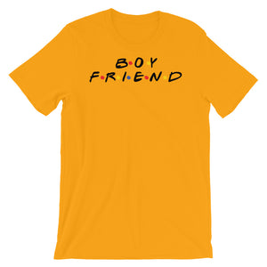 Boy Friend-Short-Sleeve Unisex T-Shirt