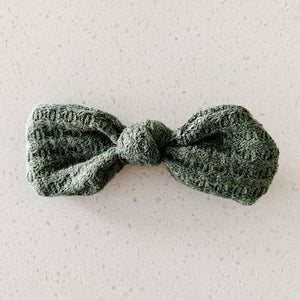 sweater weather bow