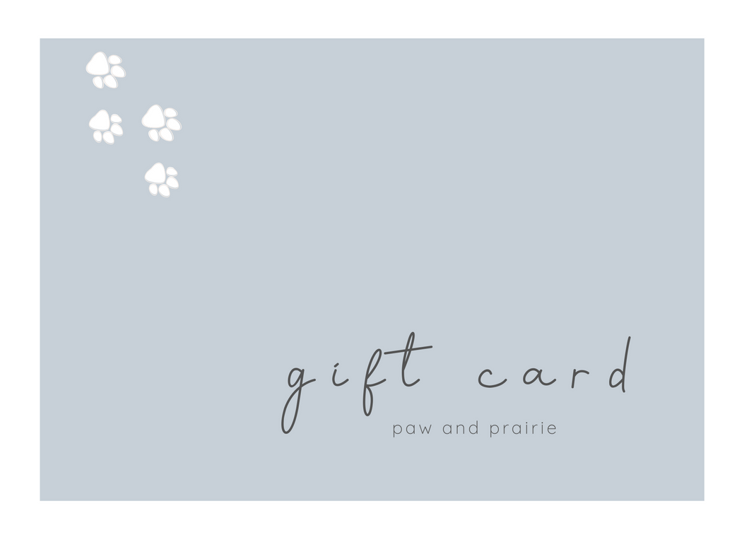 * gift card *