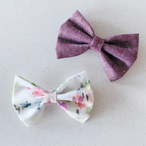 you grow girl bow tie