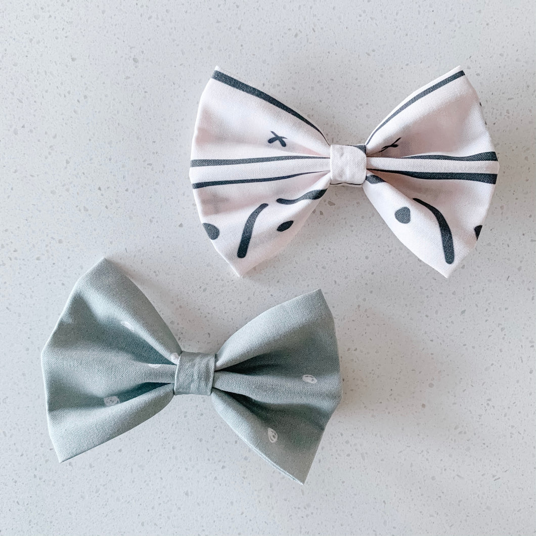 wild and free bow tie