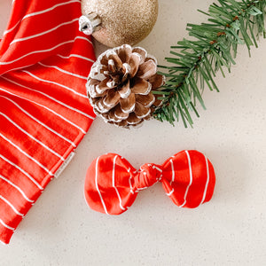 peppermint twist bow