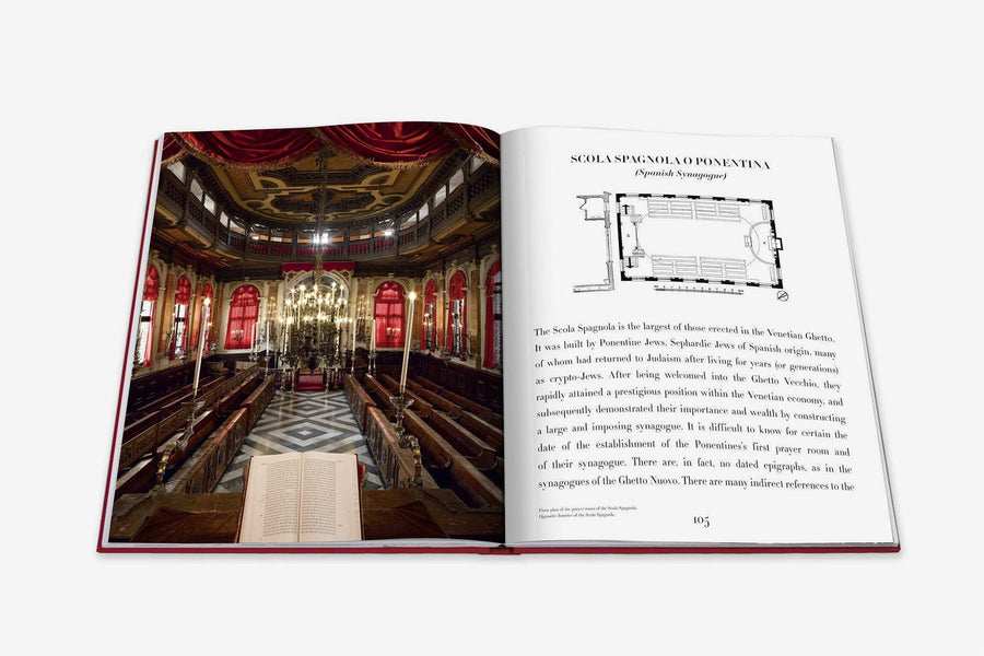 Venice Synagogues Coffee Table Book