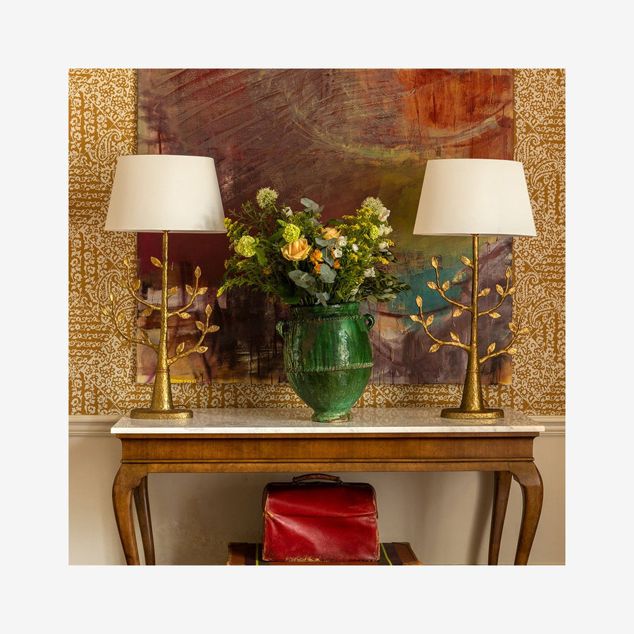 Milla - Bronze in Gilded Finish Table Lamp
