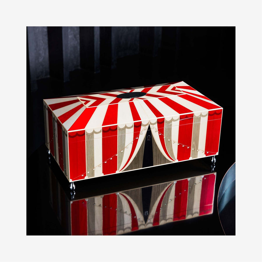 Circus Jewellery Box - Red