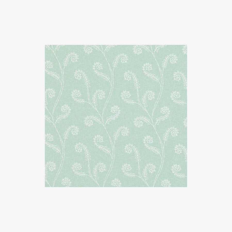 Seaweed Swiris Fabric