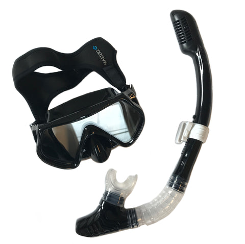 frogglez snorkel set for adults