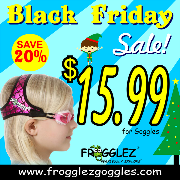 Black Friday Frogglez Goggles
