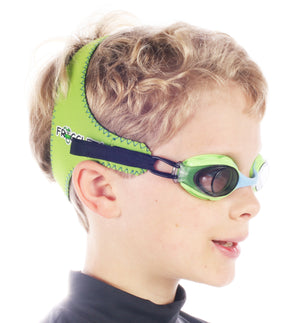 Swimming Goggle Strap, Silicone Size Extension Ring, Frogglez, Made By My Dad LLC
