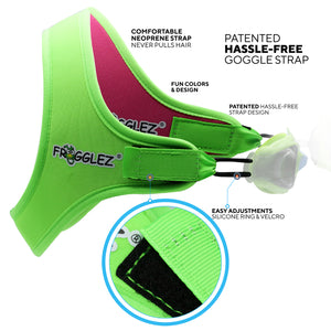 (Medium) Frogglez® Reversible Swim Goggle/Diving Mask Strap