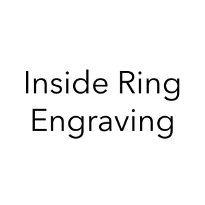Load image into Gallery viewer, Inside Ring Engraving (do not remove)