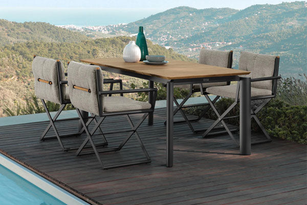 Fully Upholstered Outdoor Dining Set, Coffee Set for Garden, Terrace & patio