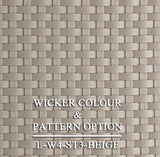 Luxox Bronze Wicker Pattern & Shade