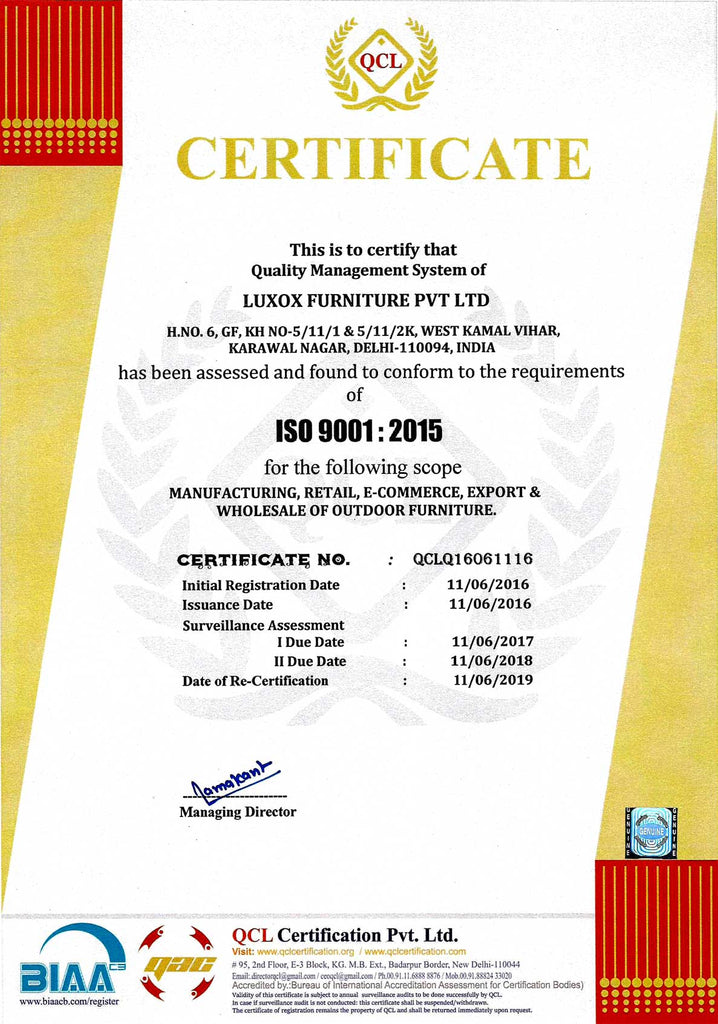Luxox Furniture Pvt Ltd Product Amp Management