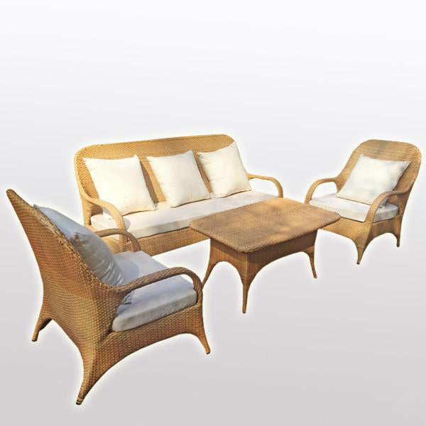Outdoor Furniture - Wicker Sofa - Conservatory
