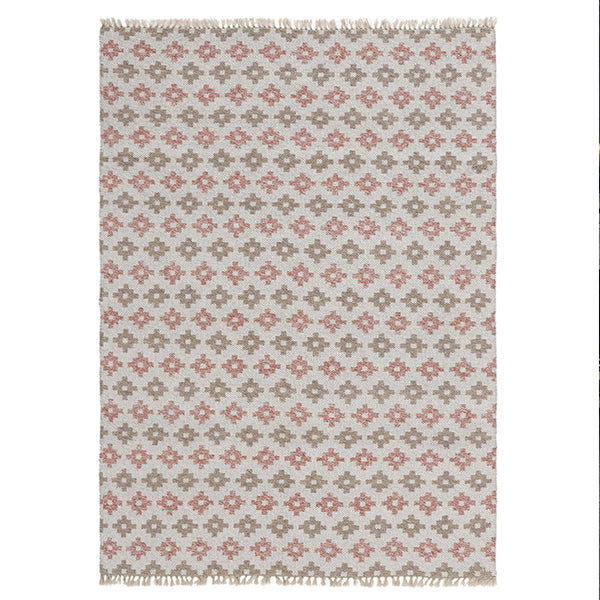 Indoor-Outdoor braided Rugs/Carpet - Pink