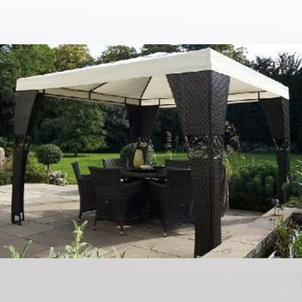 Outdoor Wicker Cabana & Gazebo - Moments