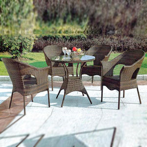 Wicker Garden Set - Ecolite Gamma