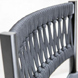 Outdoor Braided & Rope Bar Chair - Transat 908
