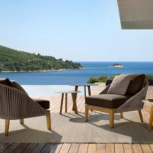 Rope Patio Furniture.Outdoor Braided Rope Sofa Blessy